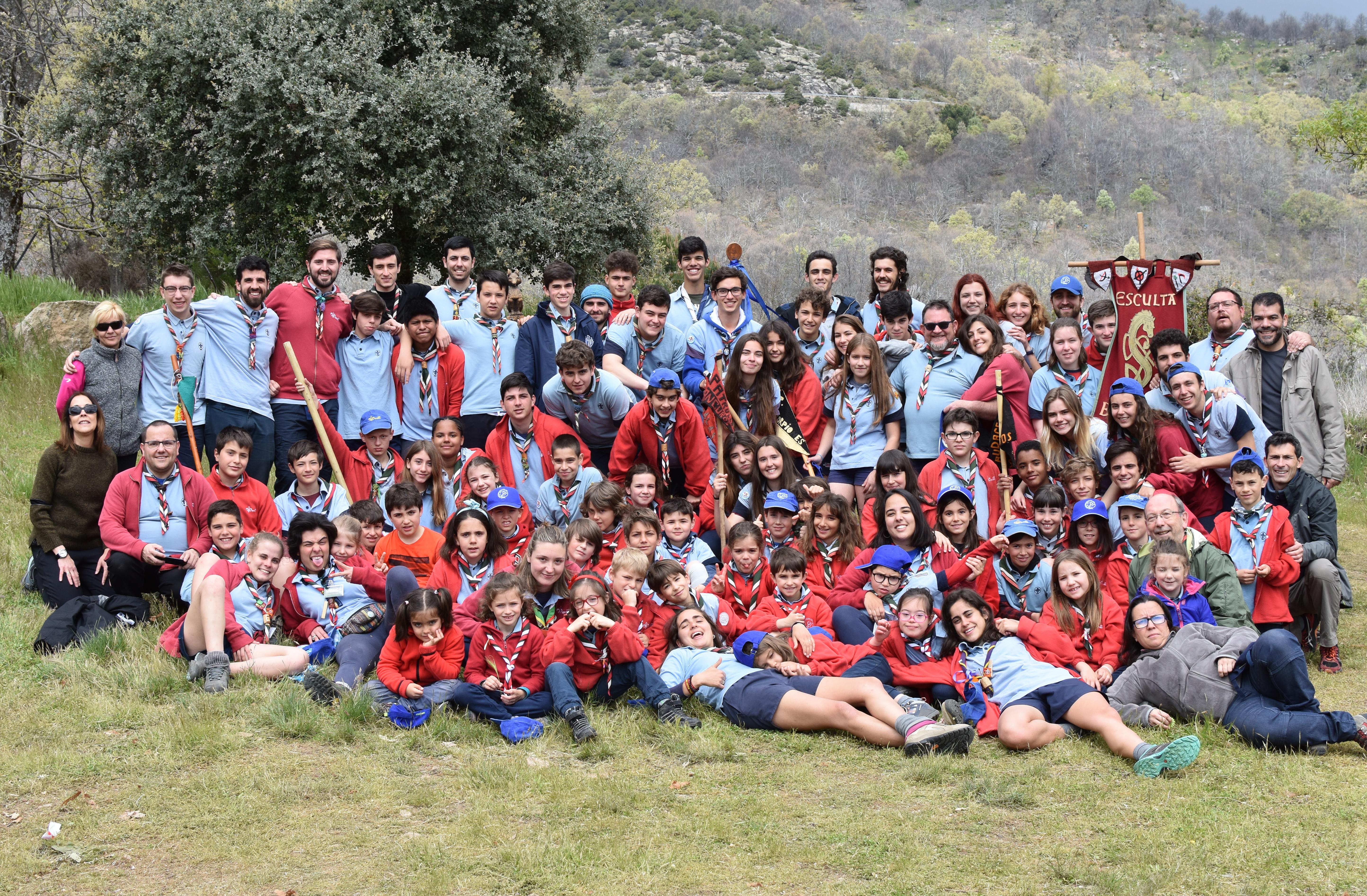 Asociación Grupo Scout Hesperia 456 Feliz San Jorge